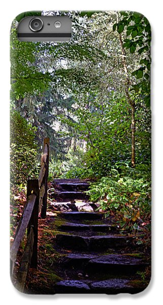 IPhone 7 Plus Case featuring the photograph A Wooded Path by Anthony Baatz