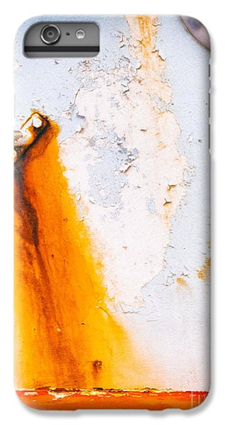 IPhone 7 Plus Case featuring the photograph Abstract Boat Detail by Silvia Ganora