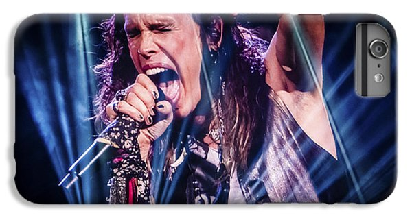 Aerosmith Steven Tyler Singing In Concert IPhone 7 Plus Case by Jani Bryson