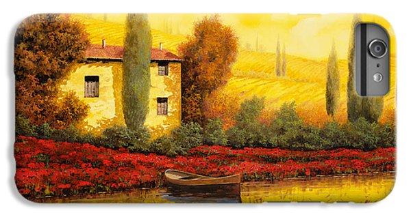 Sunset iPhone 7 Plus Case - Al Tramonto Sul Fiume by Guido Borelli