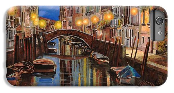 Boats iPhone 7 Plus Case - alba a Venezia  by Guido Borelli