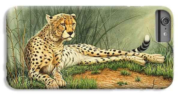 Cheetah iPhone 7 Plus Case - Alert Repose  - Cheetah by Paul Krapf