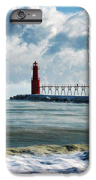 Algoma Pierhead Lighthouse IPhone 7 Plus Case by Christopher Arndt