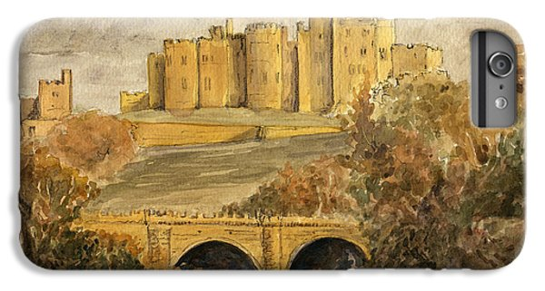 Castle iPhone 7 Plus Case - Alnwick Castle by Juan  Bosco
