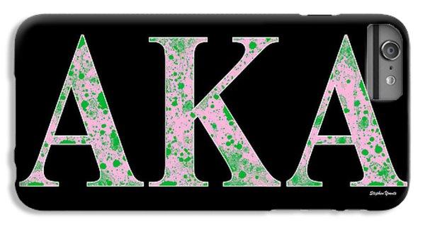 Washington D.c iPhone 7 Plus Case - Alpha Kappa Alpha - Black by Stephen Younts
