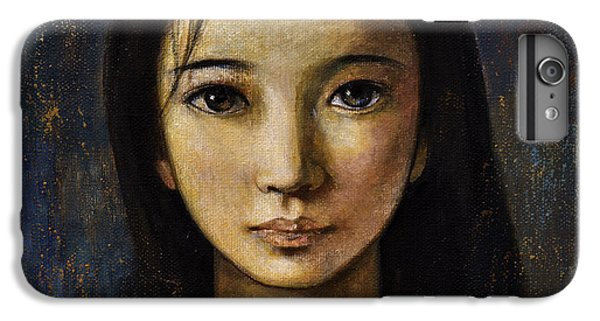 iPhone 7 Plus Case - An Enigmatic Face by Shijun Munns