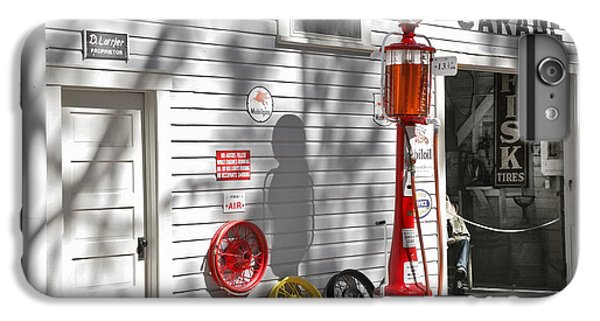 An Old Village Gas Station IPhone 7 Plus Case by Mal Bray