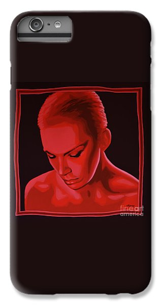 Rhythm And Blues iPhone 7 Plus Case - Annie Lennox by Paul Meijering
