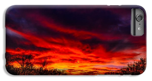 IPhone 7 Plus Case featuring the photograph Another Tucson Sunset by Mark Myhaver