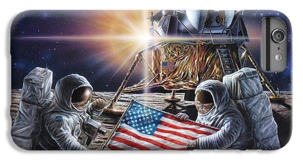 Apollo 11 IPhone 7 Plus Case by Don Dixon