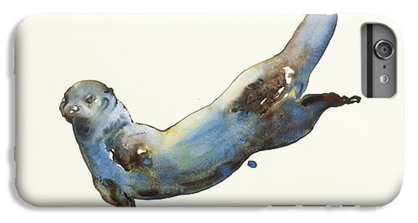 Otter iPhone 7 Plus Case - Aqua by Mark Adlington