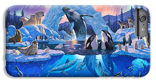 Whale iPhone 7 Plus Case - Arctic Harmony by Chris Heitt