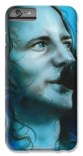 Eddie Vedder - ' Arms Raised In A V ' IPhone 7 Plus Case by Christian Chapman Art
