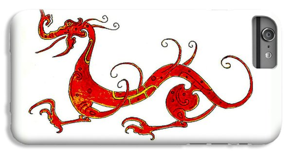 Dragon iPhone 7 Plus Case - Asian Dragon by Michael Vigliotti