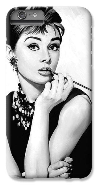 Audrey Hepburn Artwork IPhone 7 Plus Case by Sheraz A