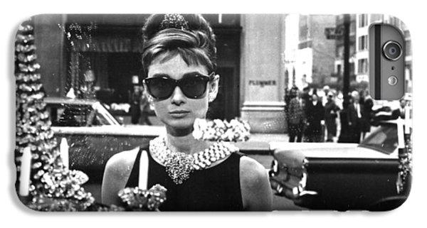 Audrey Hepburn Breakfast At Tiffany's IPhone 7 Plus Case by Georgia Fowler