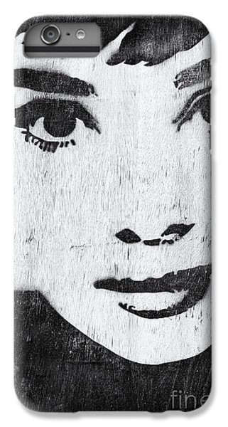 Audrey Hepburn IPhone 7 Plus Case by Tim Gainey