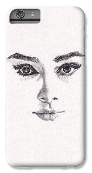 Audrey IPhone 7 Plus Case by Lee Ann Shepard