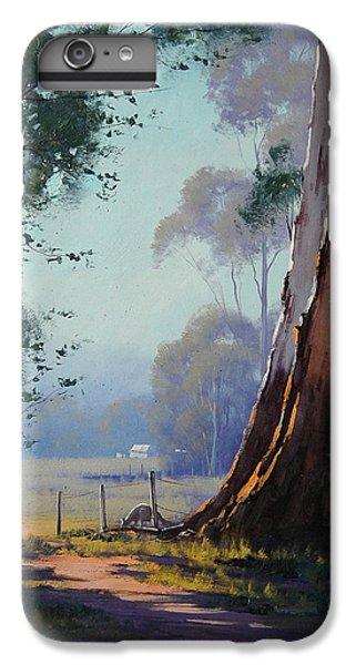 Kangaroo iPhone 7 Plus Case - Australian Farm Painting by Graham Gercken