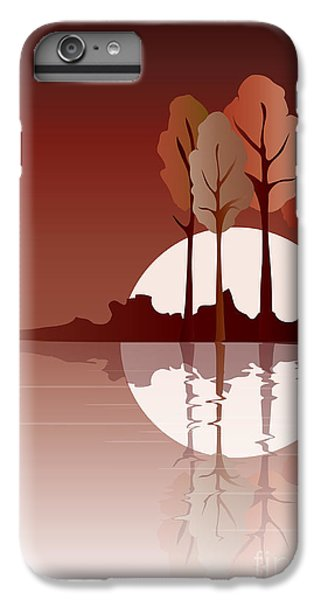 Lake iPhone 7 Plus Case - Autumn Reflected by Jane Rix