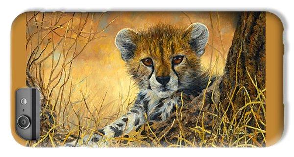 Cheetah iPhone 7 Plus Case - Baby Cheetah  by Lucie Bilodeau
