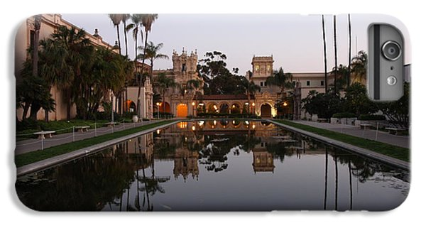 IPhone 7 Plus Case featuring the photograph Balboa Park Reflection Pool by Nathan Rupert