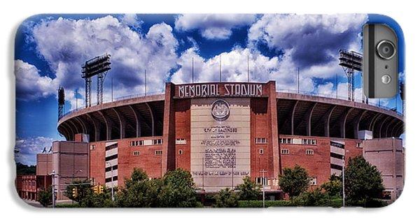 Oriole iPhone 7 Plus Case - Baltimore Memorial Stadium 1960s by Mountain Dreams