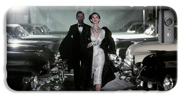 Barbara Mullen With Cars IPhone 7 Plus Case by John Rawlings