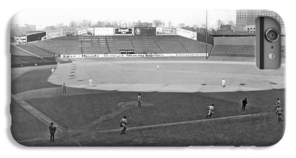 Baseball At Yankee Stadium IPhone 7 Plus Case by Underwood Archives