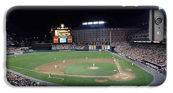Oriole iPhone 7 Plus Case - Baseball Game Camden Yards Baltimore Md by Panoramic Images
