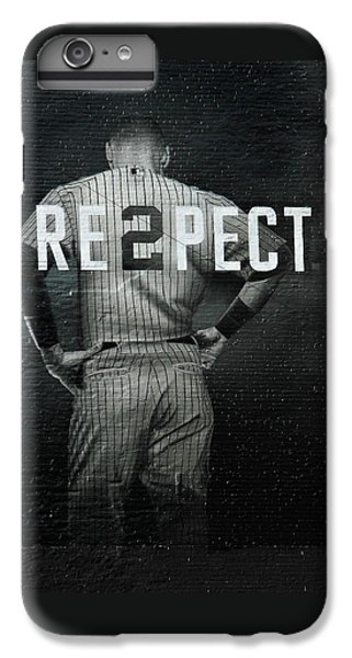 Derek Jeter iPhone 7 Plus Case - Baseball by Jewels Blake Hamrick