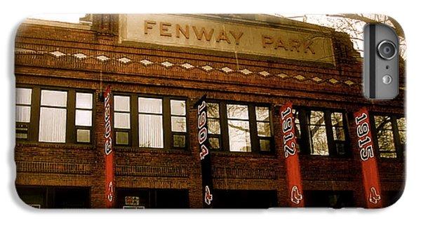 Boston iPhone 7 Plus Case - Baseballs Classic  V Bostons Fenway Park by Iconic Images Art Gallery David Pucciarelli