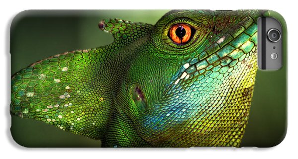 Dragon iPhone 7 Plus Case - Basilisca Verde by Jimmy Hoffman