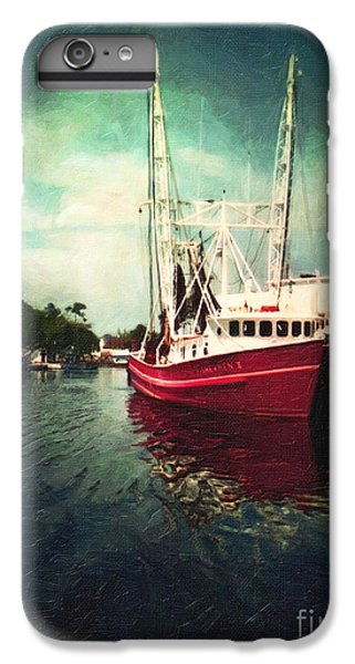 Shrimp Boats iPhone 7 Plus Case - Bayou Labatre by Lianne Schneider