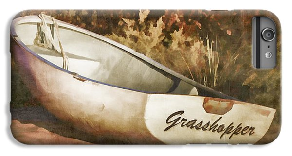Grasshopper iPhone 7 Plus Case - Beached Rowboat by Carol Leigh