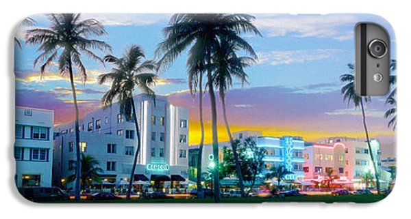 Miami Skyline iPhone 7 Plus Case - Beautiful South Beach by Jon Neidert