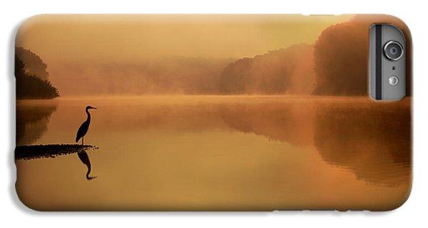 Heron iPhone 7 Plus Case - Beside Still Waters by Rob Blair