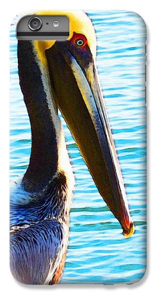Big Bill - Pelican Art By Sharon Cummings IPhone 7 Plus Case by Sharon Cummings