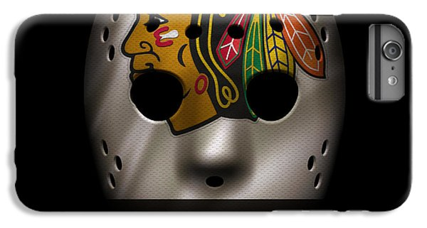 Blackhawks Jersey Mask IPhone 7 Plus Case by Joe Hamilton
