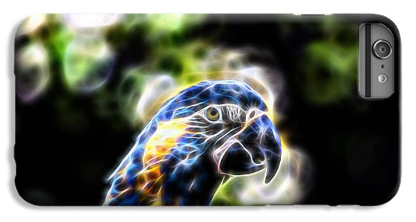 Blue And Gold Macaw V4 IPhone 7 Plus Case by Douglas Barnard