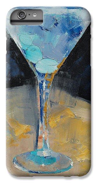 Blue Art Martini IPhone 7 Plus Case