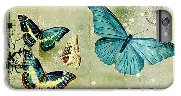 Blue Butterfly - S55c01 IPhone 7 Plus Case