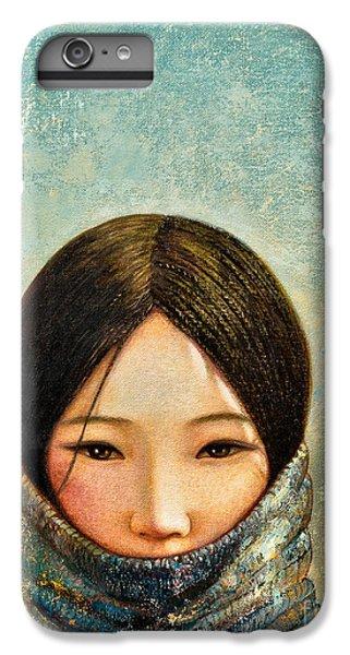 iPhone 7 Plus Case - Blue Girl by Shijun Munns