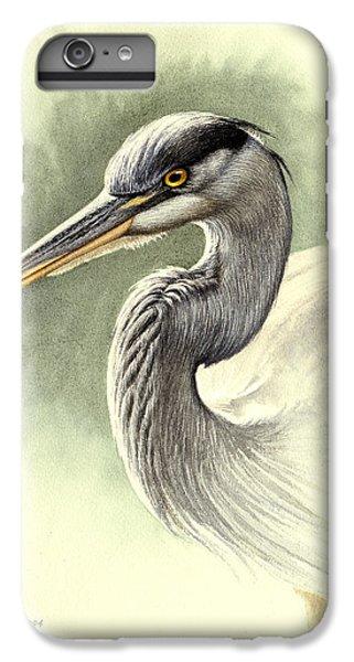 Heron iPhone 7 Plus Case - Blue Heron   by Paul Krapf