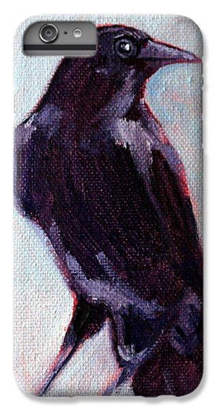 Blue Raven IPhone 7 Plus Case by Nancy Merkle
