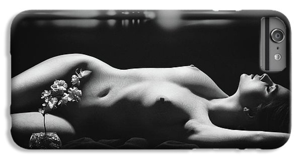 Orchid iPhone 7 Plus Case - Blues by Boris Belokonov