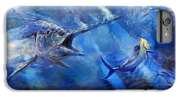 Swordfish iPhone 7 Plus Case - Blues by Tom Dauria