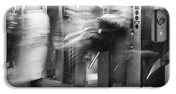IPhone 7 Plus Case featuring the photograph Blurred In Turnstile by Dave Beckerman