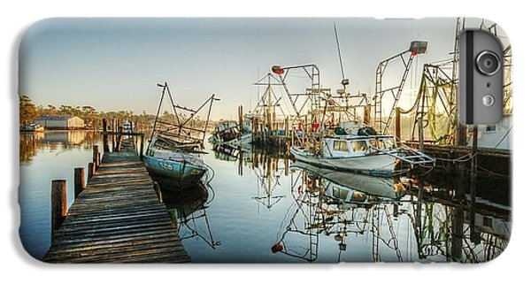 Shrimp Boats iPhone 7 Plus Case - Boats In Billy's Harbor by Michael Thomas