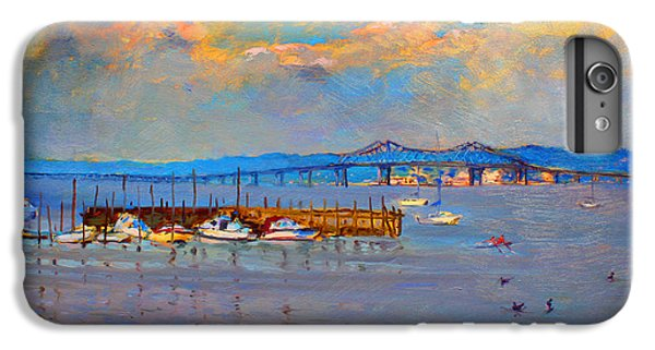 Duck iPhone 7 Plus Case - Boats In Piermont Harbor Ny by Ylli Haruni